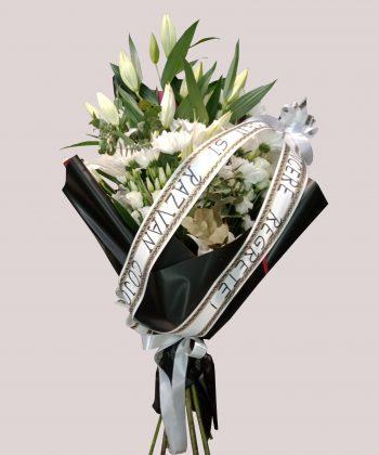 coroana funerara buchet funerar