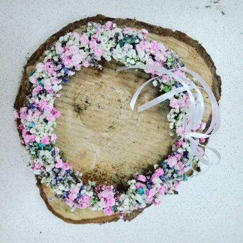 coronita flori naturale mireasa premiere